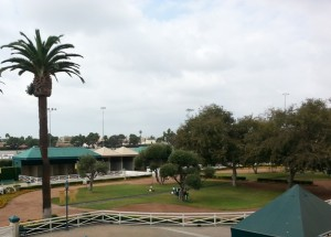 Hollywood Park Paddock
