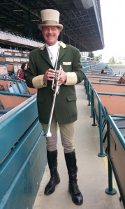 BHP Hollywood Park Bugler Jay Cohen