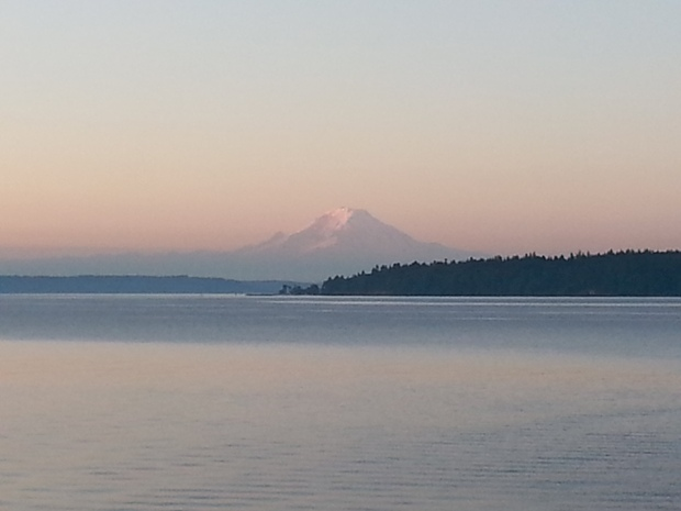 dawn from Bainbridge Island